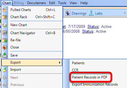 Access the Patient Requested Copies Manager