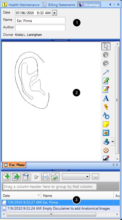 Three Interface Areas
