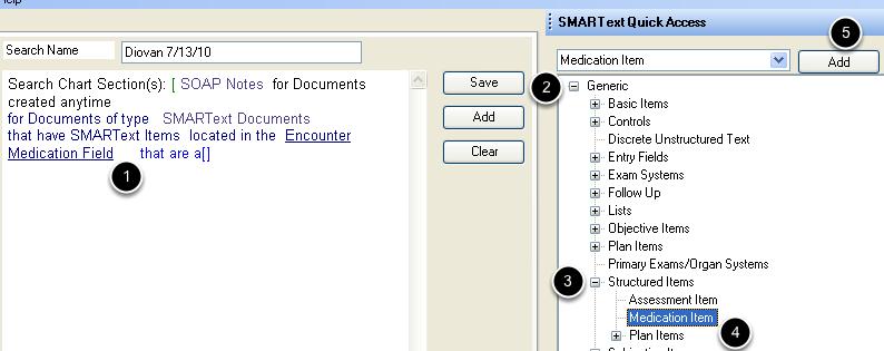 Define the SMARText Item Type