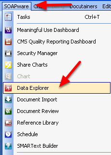 Accessing Data Explorer