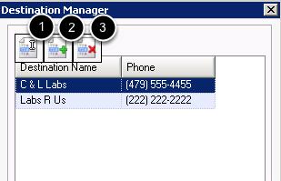 Destination Manager