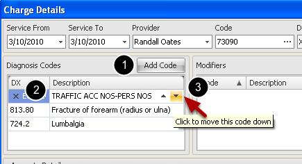 Edit Diagnosis Code