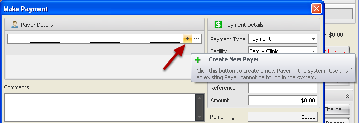 Create a New Payer