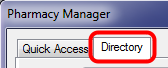 2. Select the Directory Tab