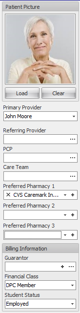 5. Complete Patient Picture, Provider and Billing Information
