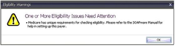 Eligibility Warnings
