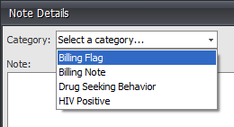 5. Select a Category