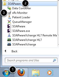 1. Open eRx Monitor