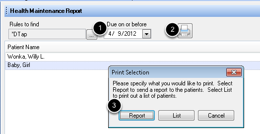 3. Print the Letter