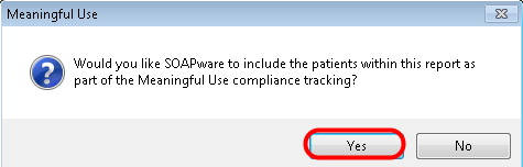 5. Add Patients to MU Compliance Tracking