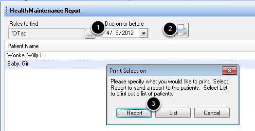 3. Print the List