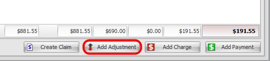 4. Add Adjustment