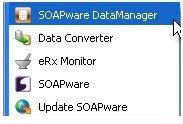 1. Start the SOAPware Data Manager