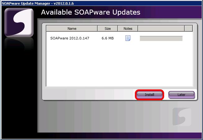 2. Install Update