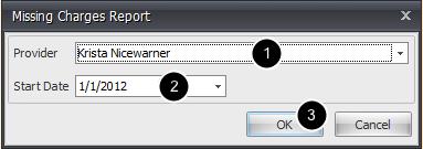 2. Select Report Options & Run
