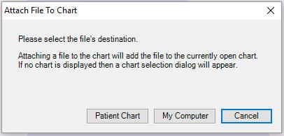 4. Choose the Patient Chart