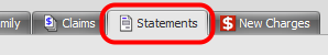3. Open the Statements Tab