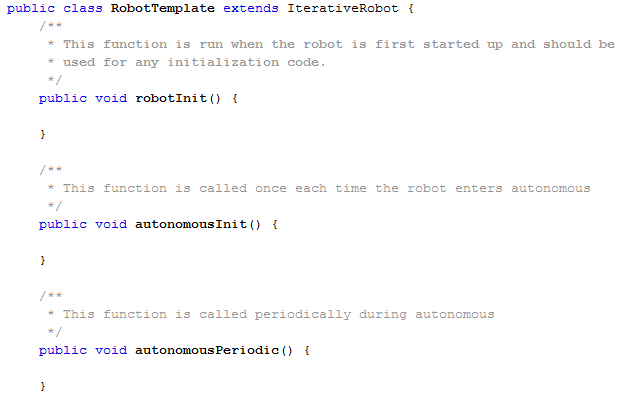 Iterative Robot