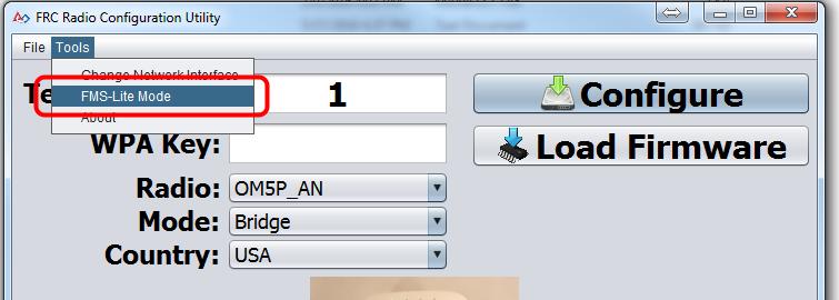 Enter FMS-Lite Mode