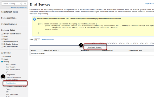 Add a New Email Service