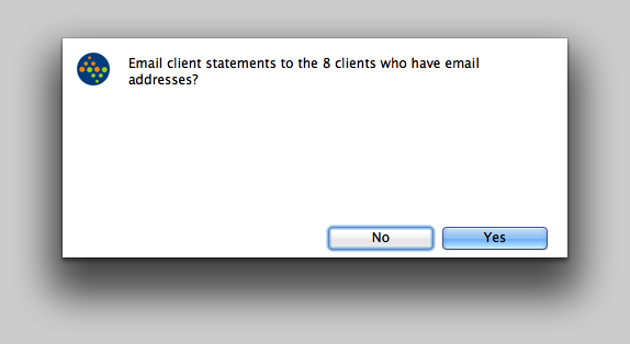 Email Client Statements.