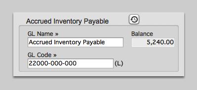 Accrued Inventory Payable
