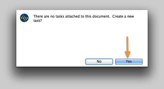 Create a New Task?
