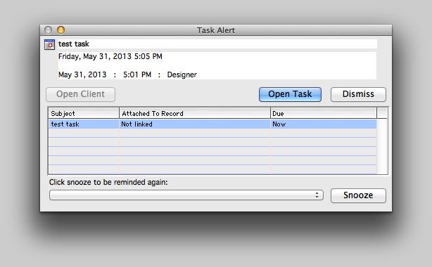 Task Alerts