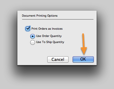 Document Printing Options