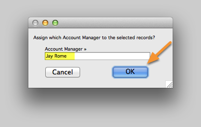 Assign which Account Manager...?