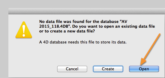 3. Selecting a Data File