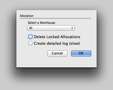 Automatic Allocation cont'd