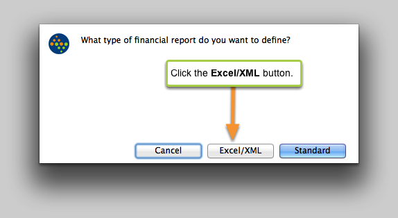 What type of financial report do you want to define?