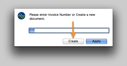 Create a new document...