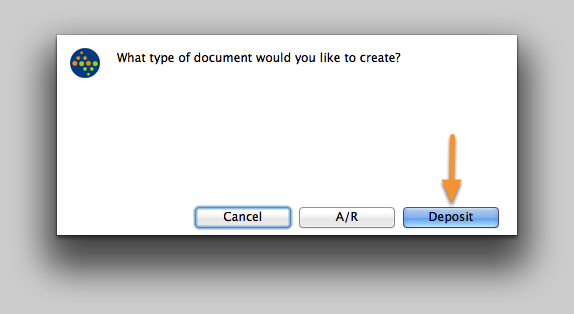 What type of document would you like to create?