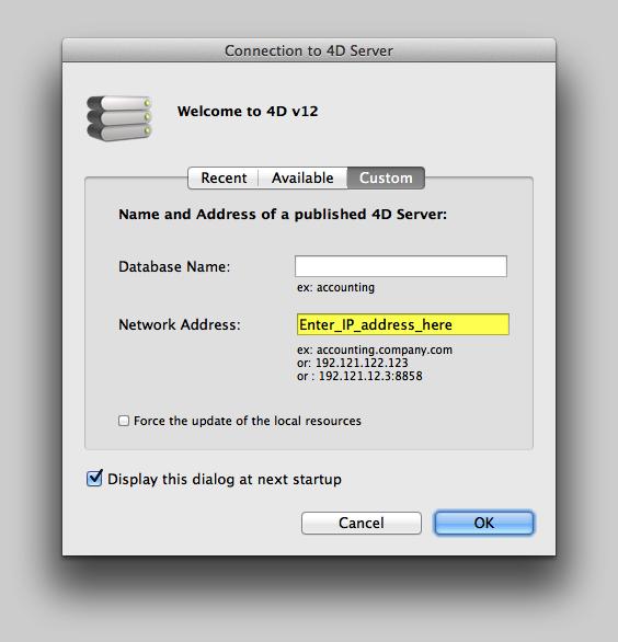 Server IP Address Has Changed