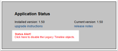 Disable All Legacy Timeline Options (automatic)