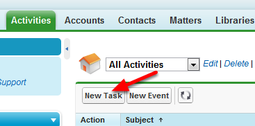 Activities TAB  OR Open Activites Related List