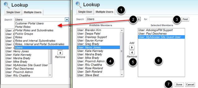 Lookup Multiple Users