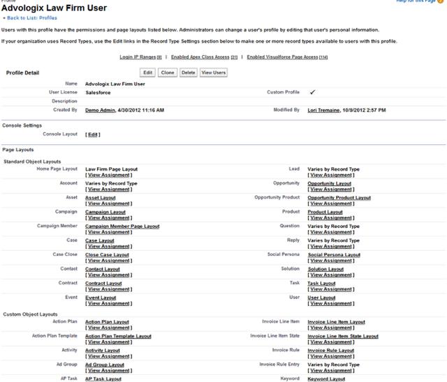 Profile Detail Page ~ Original Profile editor