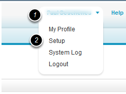 Navigate to the appropriate location in system setup to add a field for an Object