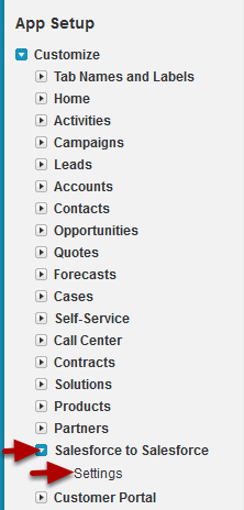 Setting Up Salesforce CRM Content