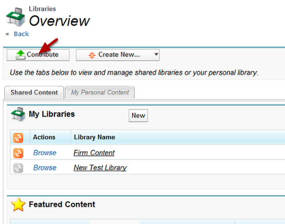 Libraries Home page