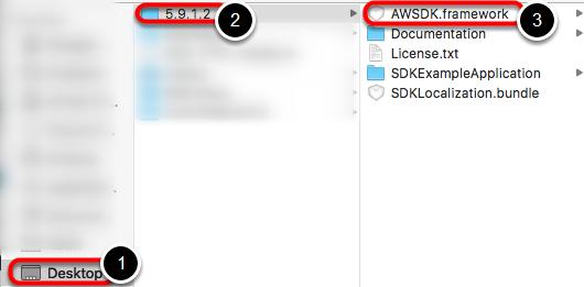 Select AWSDK.Framework