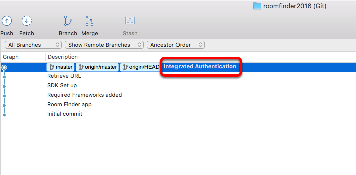 Source Tree checkout for Integrated Authentication