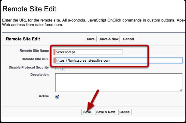Configure the Remote Site