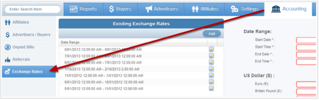 Where To Find Your Exchange Rates