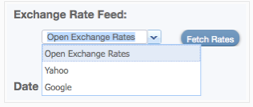 Exchange Rate Sources