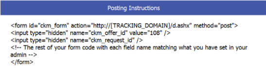 Form ID and Input Parameter