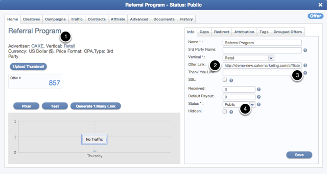 How Affiliates Access the Referral Link in the Affiliate Portal